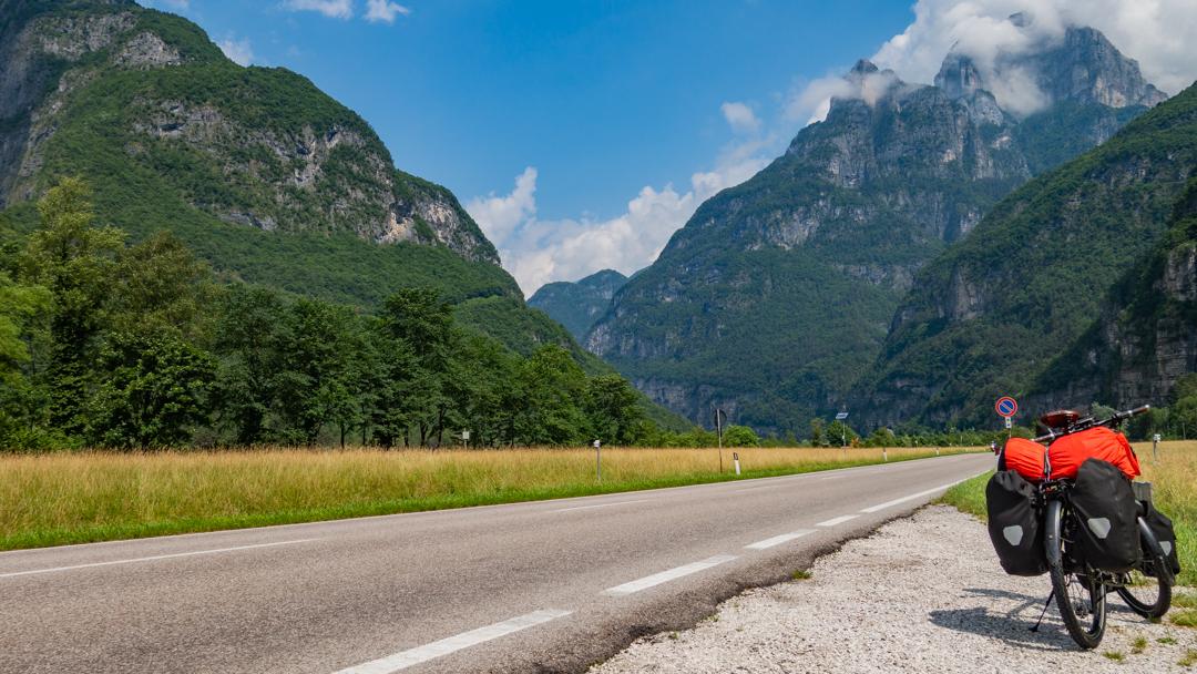 La Zone Bleue - Voyages à vélo - De Venise à Mâcon - Jour 1 -  Dolomites